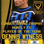 Forbes Shand Shield winner: Dennis Wyness