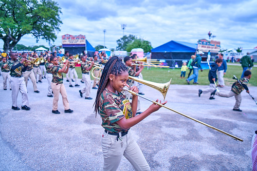 The Roots of Music on Day 4 of Jazz Fest 2017 - May 4. Photo by Eli Mergel.