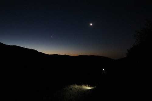 1060 We woke up before 4 and started hiking uphill in the dark at 5am, south from PCT mile 226 | by _JFR_