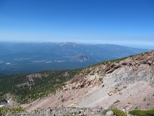 Black Butte from the trail to Hidden Valley, Shasta-Trinity National Forest, California