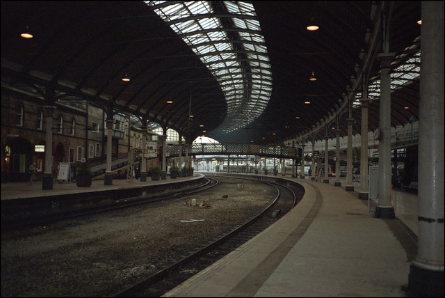 Newcastle Central Station