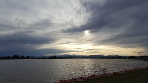 365the2017edition 3652017 day127365 7may17 windsor colorado lake sunset storms walkingthedog