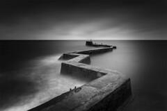 St Monans Pier, St Monans, Fife, Scotland.