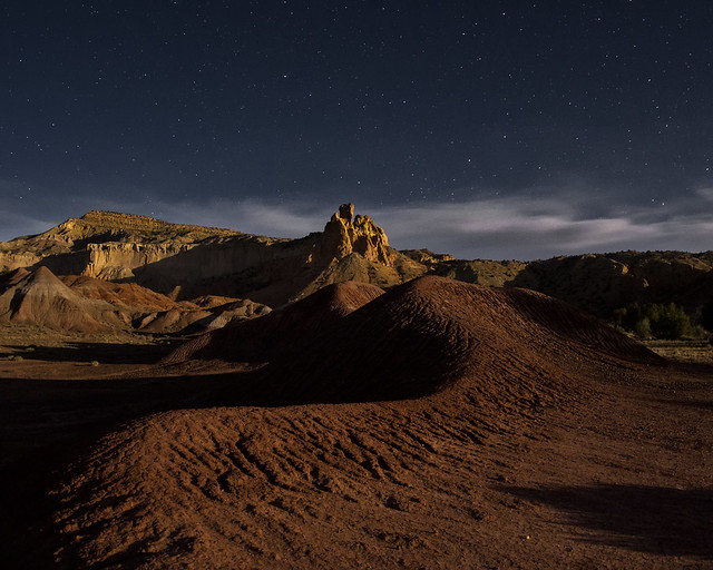 Ghost Ranch nightscape