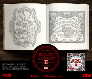 The Beauty of Horror 2: Ghouliana's Creepatorium - Another GOREgeous Coloring Book by Alan Robert | by alanrobert666