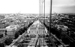 Horizon Skyline Frankfurt Bw Blackandwhite Architecture