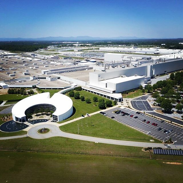 BMW Plant Spartanburg >> Another Shot Of Bmw Mc Plant Spartanburg Today 150 Ft Ag