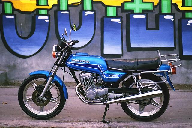 Classic vehicles - Honda CB125T
