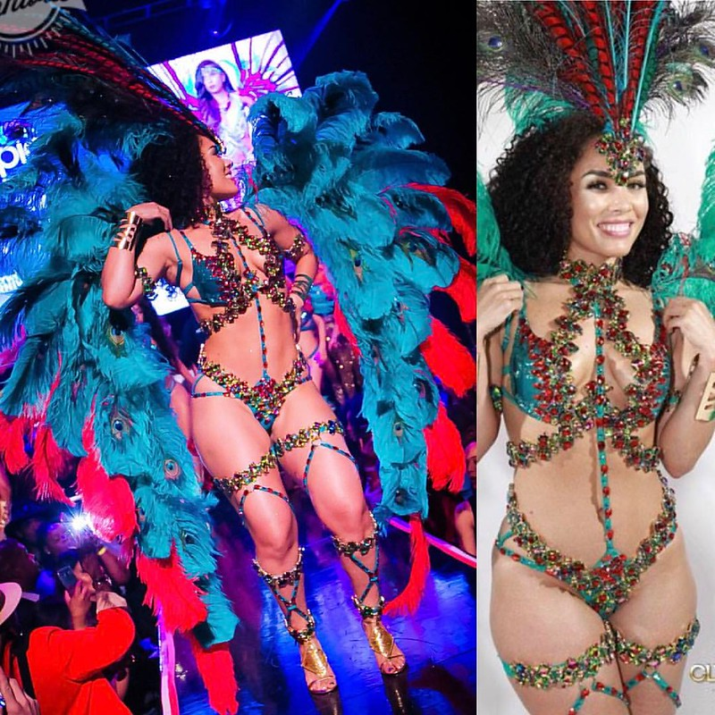 Epic Mas Presents GUILTY TREASURES for Hollywood Carnival 2017 - SAT Jun 24th @EpicMasBand (Featured costume above: BIJOU Individual) . . Sections: D