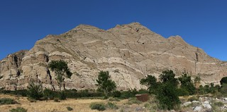 1399 Interesting striped rock on the canyon walls at the Whitewater Preserve | by _JFR_