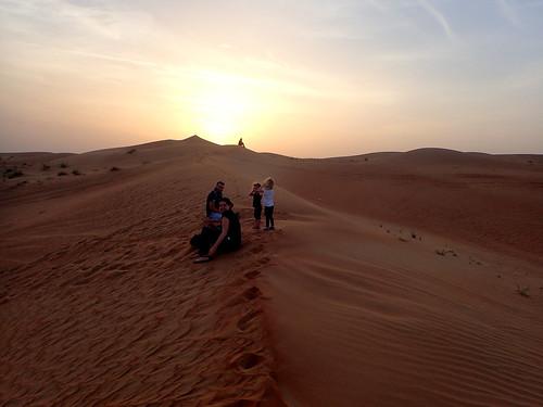 2017 - UAE - Excursion - Morning - Group on Dunes | by SeeJulesTravel