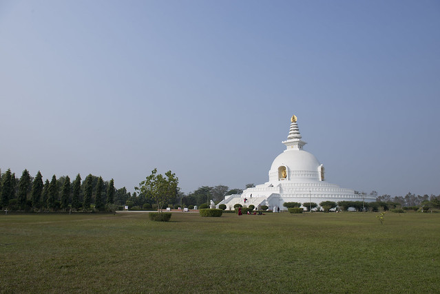 NPL Japan World Peace Pagoda - Lumbini
