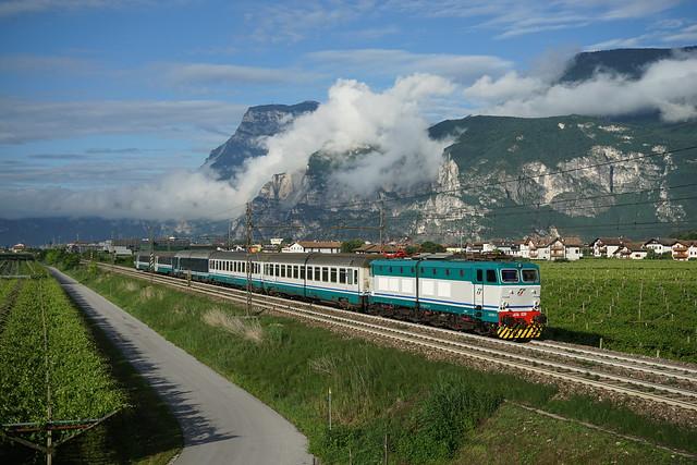 Trenitalia E.656   Mezzocorona