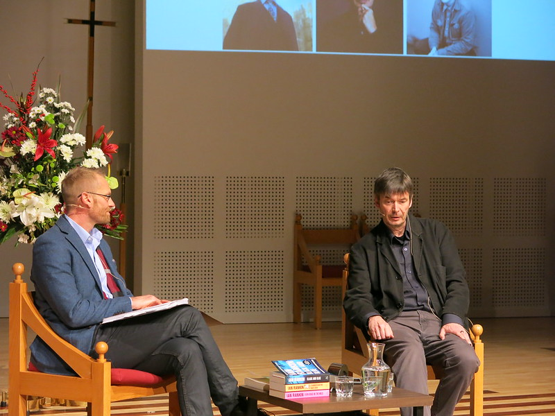 Marcus Elliott and Ian Rankin