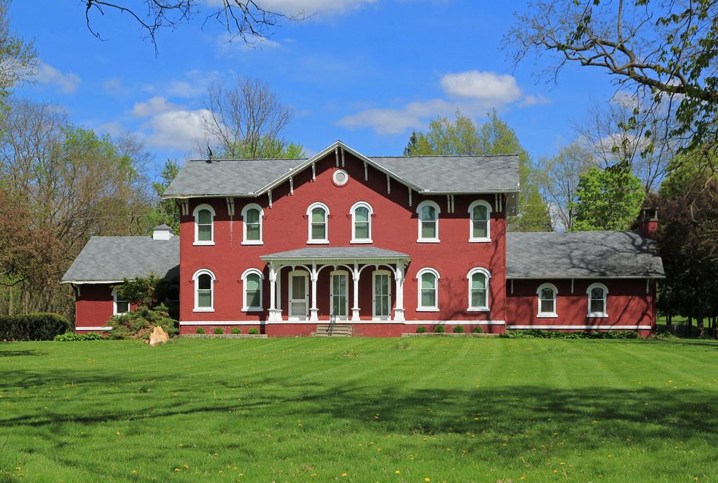 Enigmatic Building — Albion Township, Calhoun County, Mich