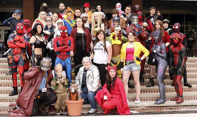 Marvel group photo