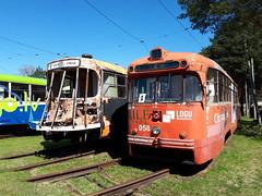 Daugavpils RVR Tram 058 Scrap Line Depot