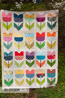 My first ever Bee Quilt is finished!
