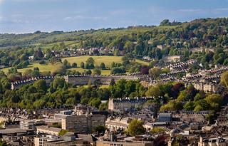 The Royal Crescent, Bath Somerset England