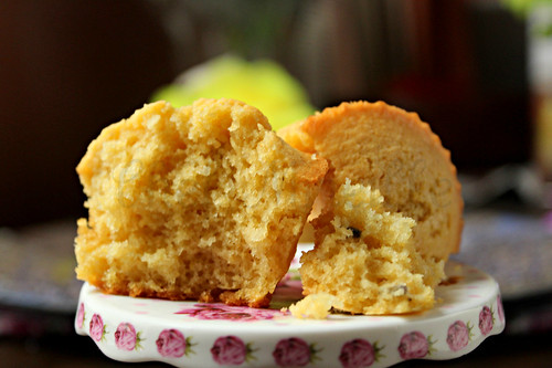 Lavender Coconut Corn Muffins -edit
