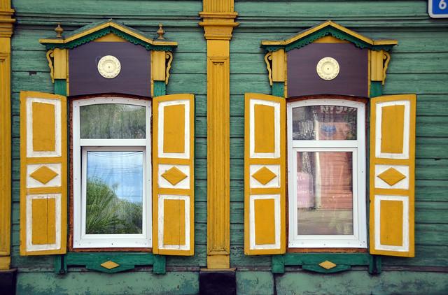 Architecture traditionnelle de Sibérie