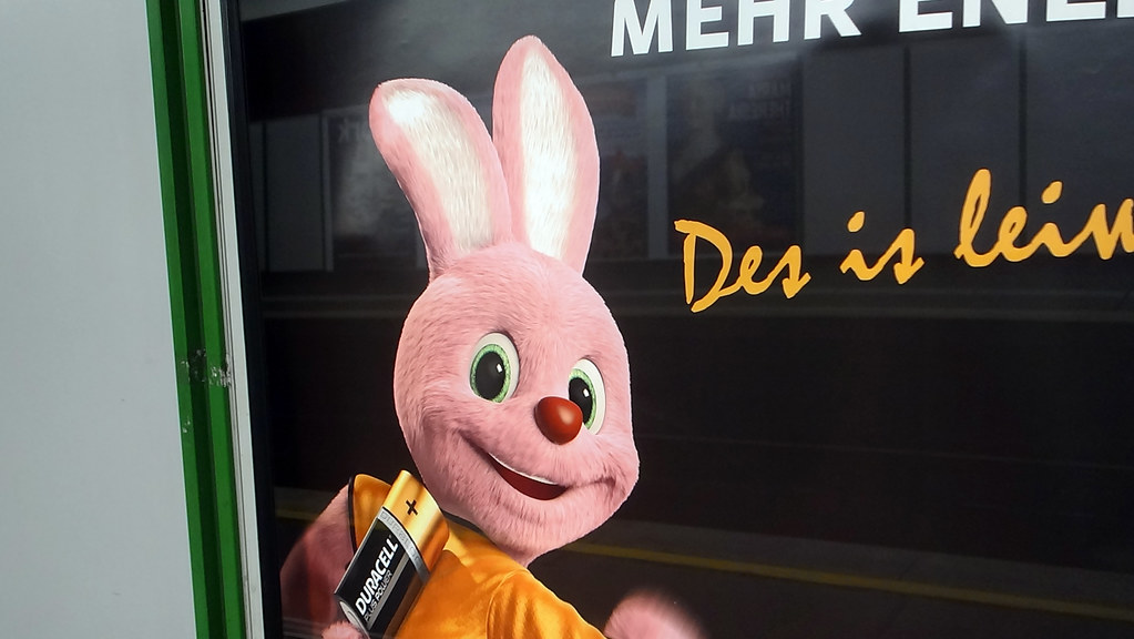 In Europe the Pink Rabbit belongs to Duracell
