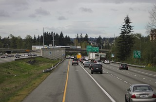I-5 southbound at Ash Way P&R | by SounderBruce