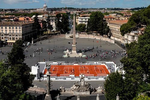 Piazza del Popolo Tennis Internazionali BNL d'Italia_1