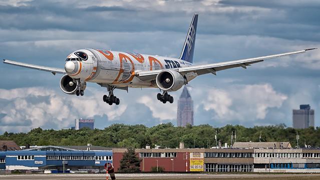 ANA Airways | Starwars BB-8  | Boeing | 777-300ER | JA789A | FRA\DRS
