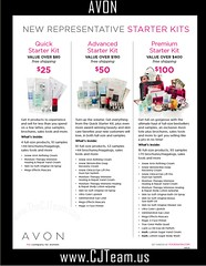 Avon New Representative Starter Kits 2017