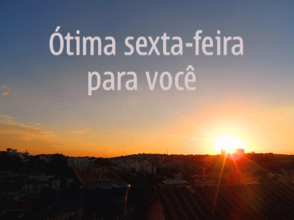 Frase De Sexta Feira 05052017 Pôr Do Sol Em Belo Horizon
