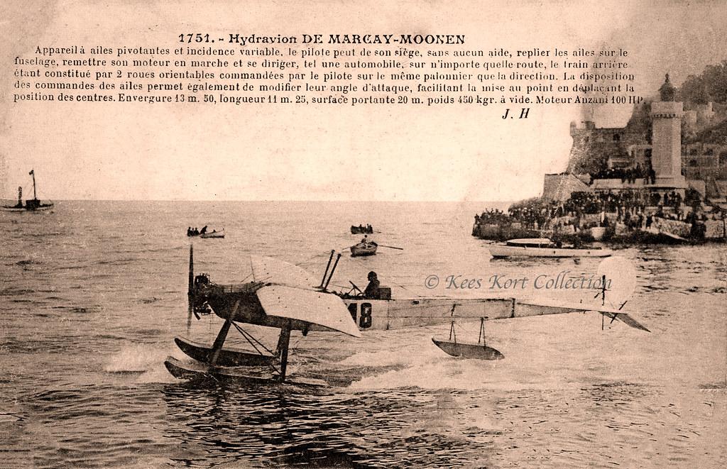 Juan Bielovucic Taxiing The De Marcay Moonen Hydroplane Ou Flickr