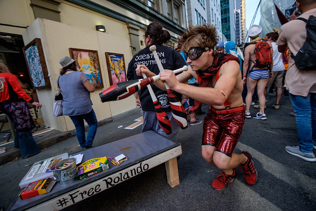 How Weird Street Faire 2017: interwound switch-hitters