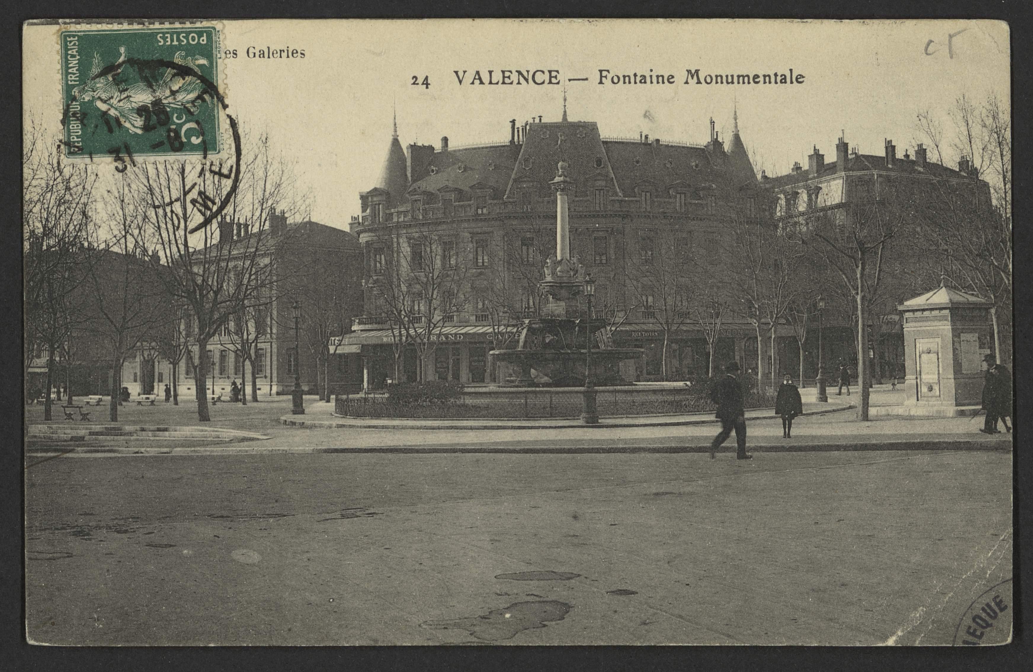 Valence - Fontaine Monumentale