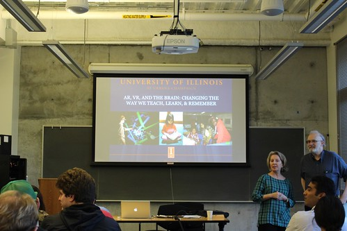 """Alan Craig: """"VR, AR, and the Brain: Teaching, Learning, and Research With Virtual and Augmented Reality"""" 3.8.17"""