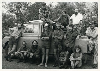 1971-72 - Operation Ord Noah Crew with WA Museum Workers - Identified in Caption 2 - KHS-2014-140-b-P-D-01-2-Crop