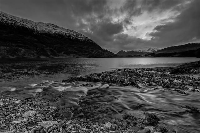 Loch Beannacharain ..