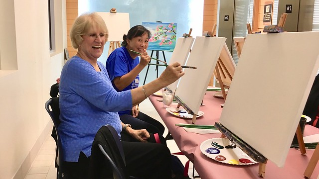 Martha at Paint & Sip