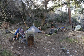 0660 PCT camp WRCS0235 was already full with a group of young PCT Through-Hikers | by _JFR_