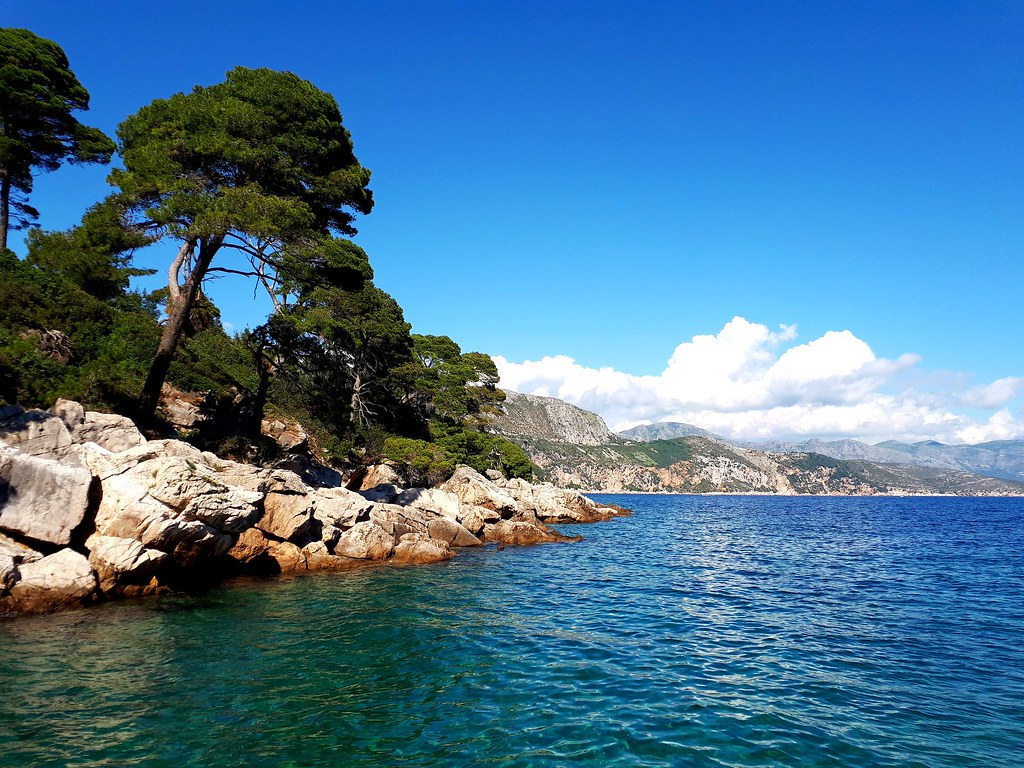 View from Lokrum Island, Croatia.  (Mobile phone shot) ( Explored)