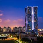 中鋼大樓與夢時代 Kaohsiung night