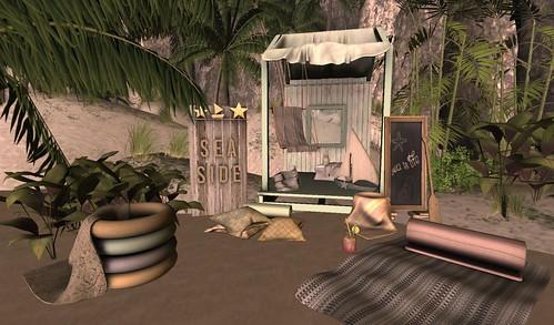 Serenity Style: OMG Summer Beach Gacha & On9 Event July 2015   by Hidden Gems in Second Life (Interior Designer)