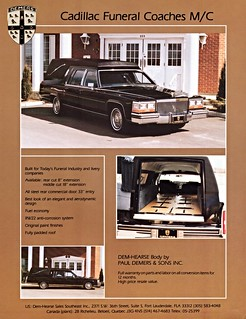 1980 Cadillac Funeral Coach by Demers (Canada)