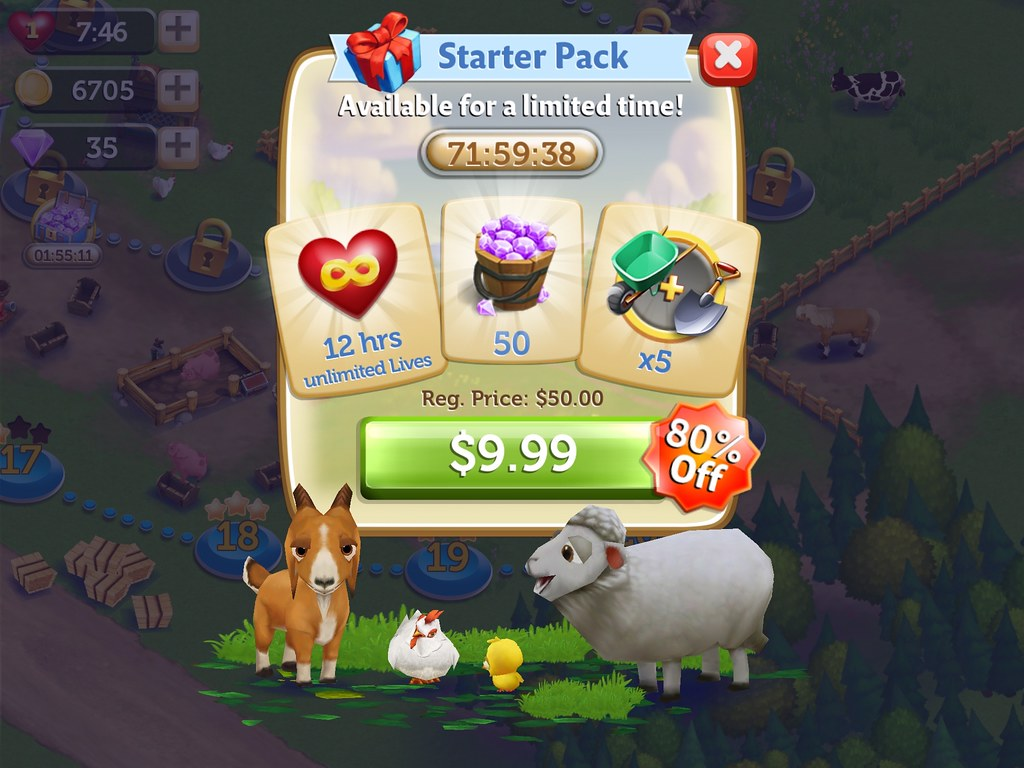 FarmVille: Harvest Swap | UX Examples (Mobile Games) | Flickr