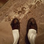 Burgundy loafers