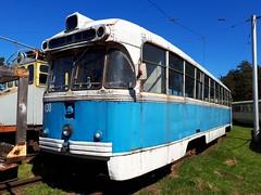 Daugavpils RVR Tram 030 retired