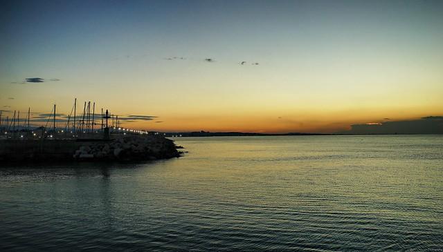 Where dusk meets calm