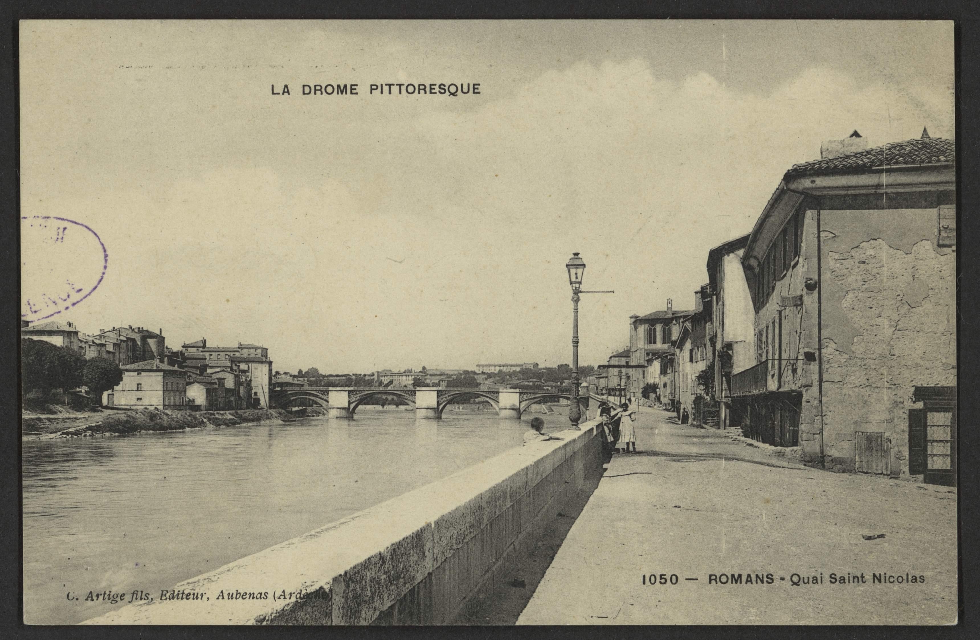 Romans - Quai Saint Nicolas