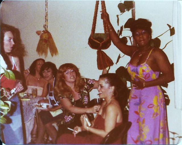 Bridal shower, 1975