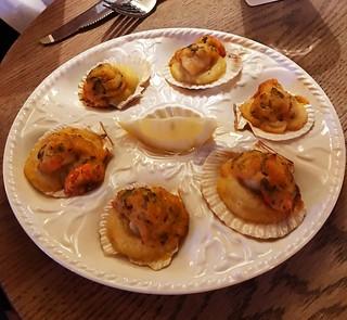 Queen scallops special | by sarahstierch